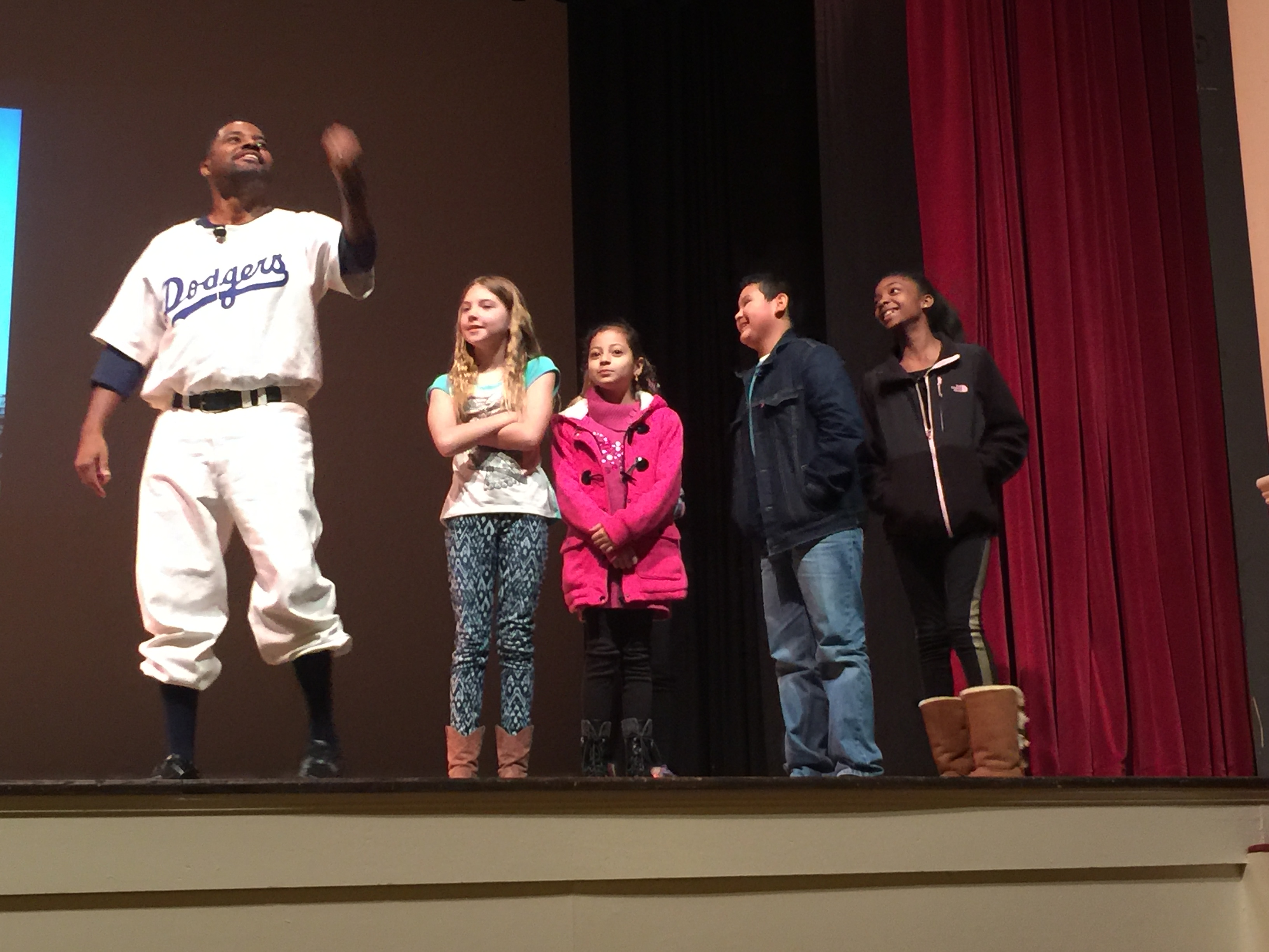 Mike Wiley in A Game Apart- The Life & Times of Jackie Robinson (Black History Month)