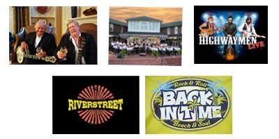 Summer MusicFest Series, photo of each band
